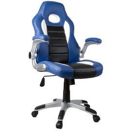चीन PU Leather Material Adjustable Office Chair With Wheels Various Color फैक्टरी